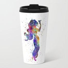 Jazmin - Aladin watercolor art Travel Mug