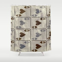 The gambler V Shower Curtain