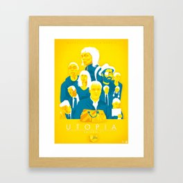 Utopia Season 01 Framed Art Print