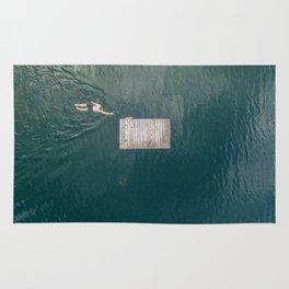 Swimmer Rug