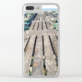 A Walk Into the Sea Clear iPhone Case