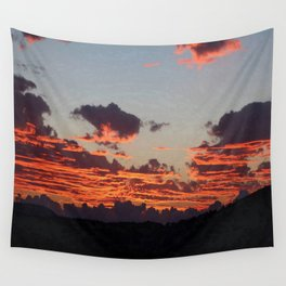Aegean Sunset Wall Tapestry