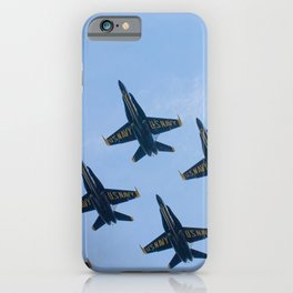 Blue Angels in Seattle iPhone Case