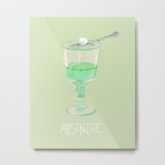 Absinthe Metal Print