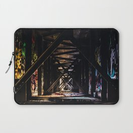 An Artist's Wonderful Bridge Laptop Sleeve