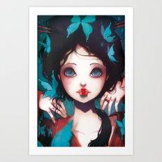 Nachtfalter Art Print