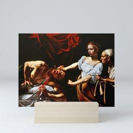 Caravaggio Judith Beheading Holofernes Mini Art Print