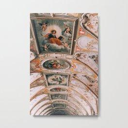 Ceiling Painting Residenz Munich Metal Print