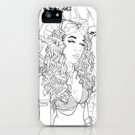 In a world iPhone Case
