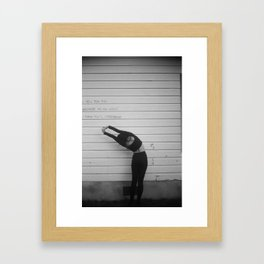 I Tell You This Framed Art Print