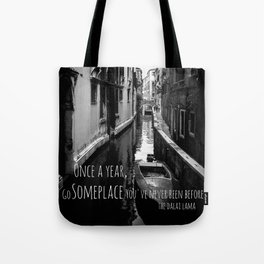 Venice - Travel Someplace New Tote Bag