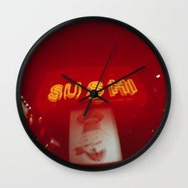 Sushi Me Sushi You Wall Clock