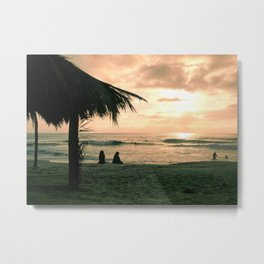 Windansea at Sunset Metal Print