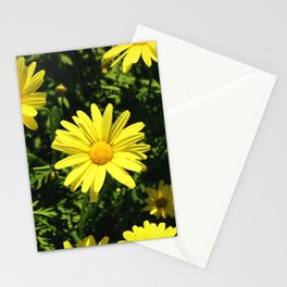 Yellow Summer Petals Stationery Cards