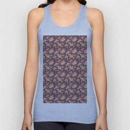 Flower Watercolor Pattern Unisex Tank Top