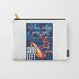 Surf left Carry-All Pouch