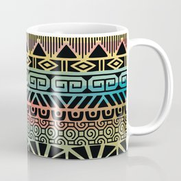 Aztec Teal Coffee Mug