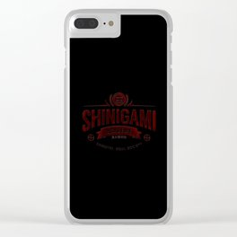 Shinigami Academy Clear iPhone Case