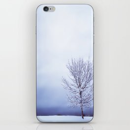 Silver Tree iPhone Skin