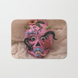 hurricane mask Bath Mat