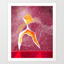Grace & Form Art Print