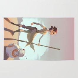 Rey & BB8 Rug