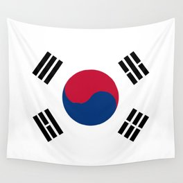 South Korean Flag Wall Tapestry