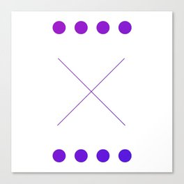 "The ""X"" Canvas Print"