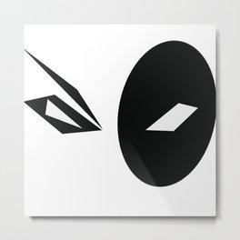 Domino (X-Force) Metal Print