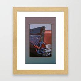 Coppertone Belair Framed Art Print