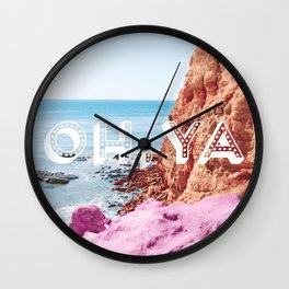 OH YA Wall Clock