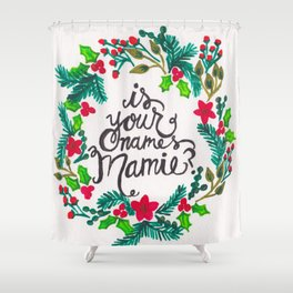 mamie Shower Curtain