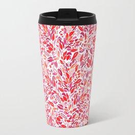 Fall Florals Travel Mug