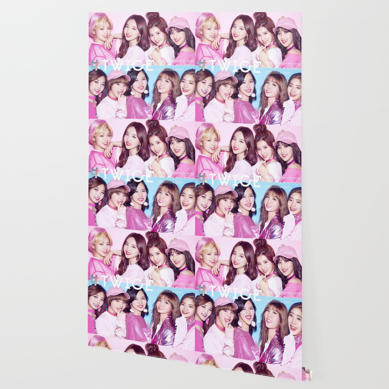 Twice Pink Kpop Wallpaper