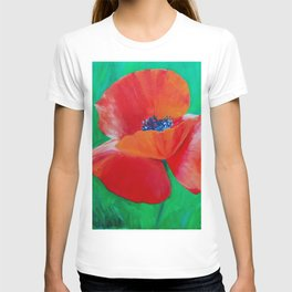 Single Poppy T-shirt