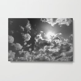Against the Giant Metal Print