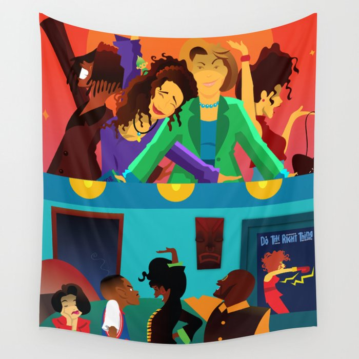 Living Single Followed By Martin Wall Tapestry By Xpayneart