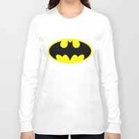 bat man Long Sleeve T-shirts featuring Bat Man by Sport_Designs