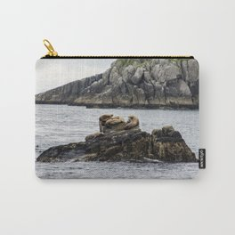 Relaxation with Friends Carry-All Pouch