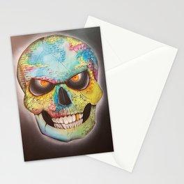 Mr. skull himself Stationery Cards