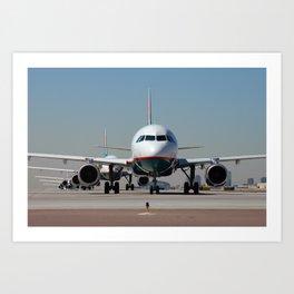 AIRLINER2 Art Print