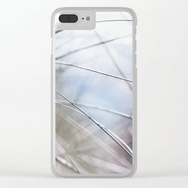 Sand Dune Grasses Perranporth Clear iPhone Case