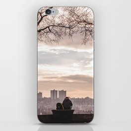 Peace and Quiet on a Winter Day in Edmonton iPhone Skin