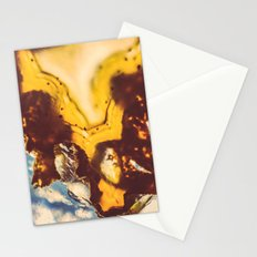 Amber Honey Agate Stationery Cards