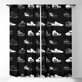 Black Sneaker Blackout Curtain