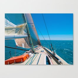 Sailing at the Whitsunday Islands, Queensland, Australia Canvas Print
