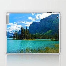 Maligne Lake in Jasper National Park, Canada Laptop & iPad Skin