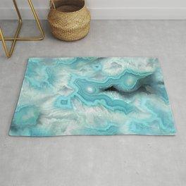 Aqua Sea Stone Rug