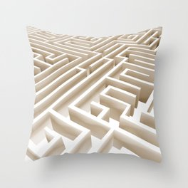 Labirinth Throw Pillow