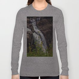 Wildflowers at the Falls Long Sleeve T-shirt